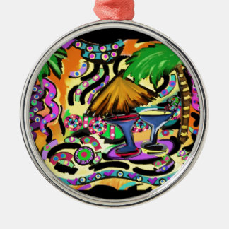 Beach Party Metal Ornament