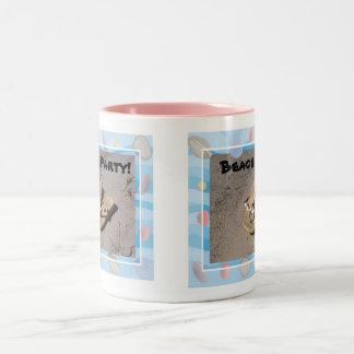 beach party mug