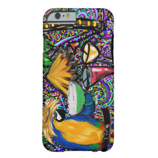 Beach Party Parrot Barely There iPhone 6 Case