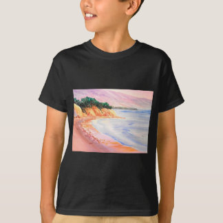Beach, Pastel and Watercolor T-Shirt