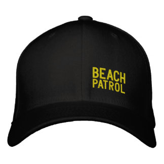 BEACH PATROL - Embroidered Baseball Cap