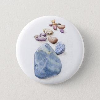 Beach Pebbles Button