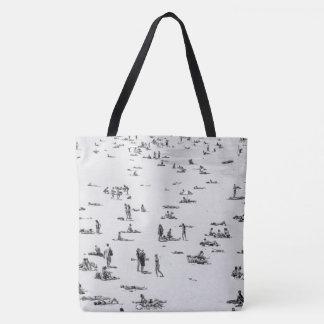 Beach People Tote Bag