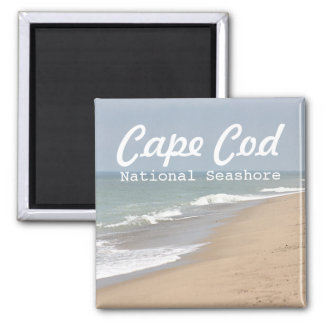 Beach photo magnet