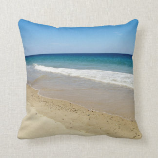 Beach photography cushion