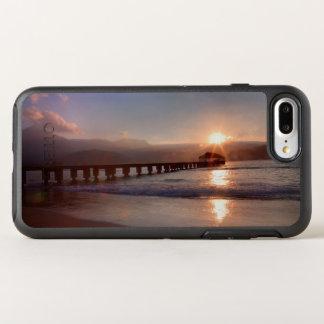 Beach pier at sunset, Hawaii OtterBox Symmetry iPhone 8 Plus/7 Plus Case
