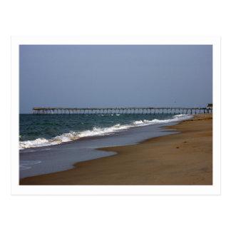 Beach Pier Postcard