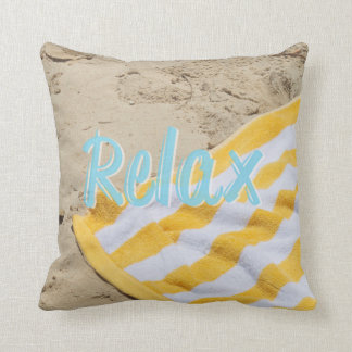 Beach Pillow Relax