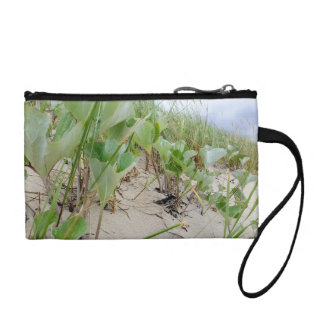 Beach plants summer coin purse