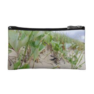 Beach plants summer cosmetic bag