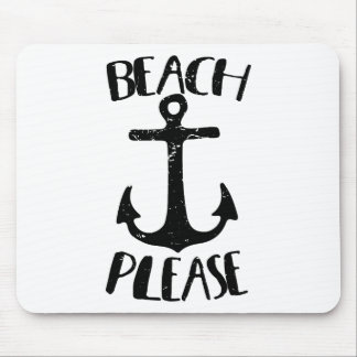 Beach Please Mouse Pad