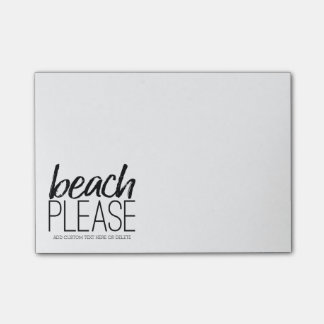Beach Please Post-it Notes