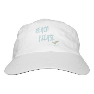 Beach Please Tropical Summer Vacation Cool Blue Hat