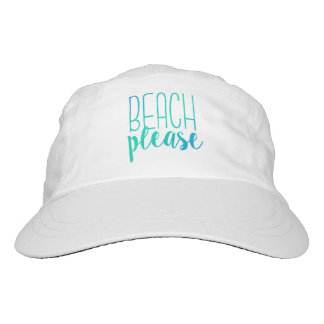 Beach Please   Turquoise Ombre Hat