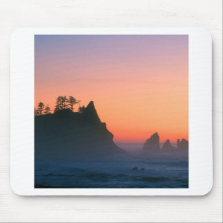 Beach Point Arches Sea Stacks Mouse Pads
