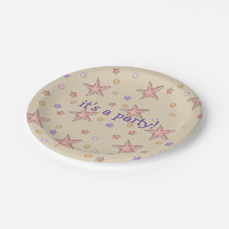 Beach Pool Party Plates