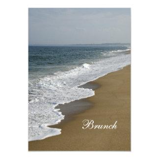 Beach Post Wedding Brunch Invitation