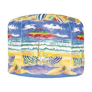 beach pouf