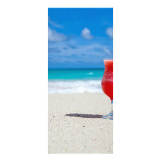 Beach Personalized Rack Card