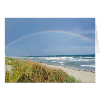 Beach Rainbow Note Card