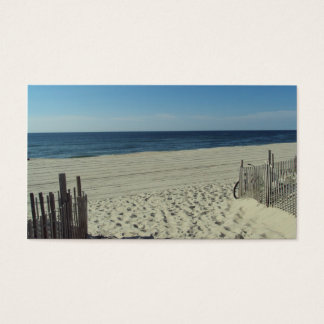 Beach Relaxation Business Card