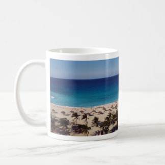 Beach Resort Background Coffee Mug