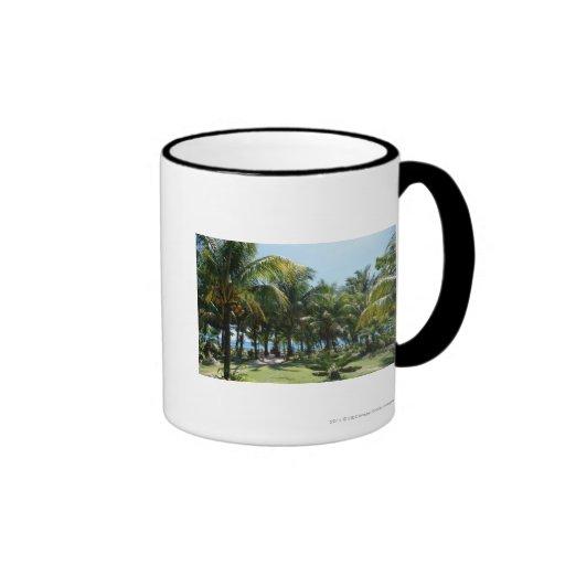 Beach resort mugs