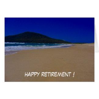 beach retire cards