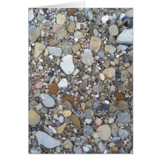 Beach Rocks Card