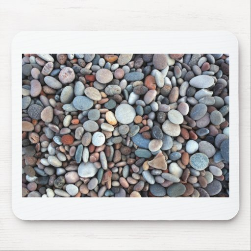 Beach Rocks Mouse Pads