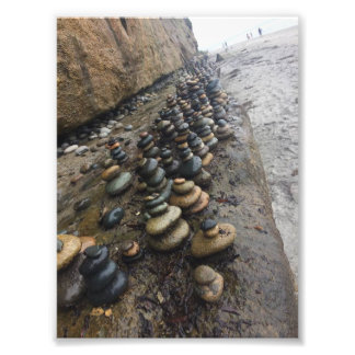 Beach Rocks Photo Print