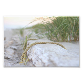 Beach Rope Photo Print