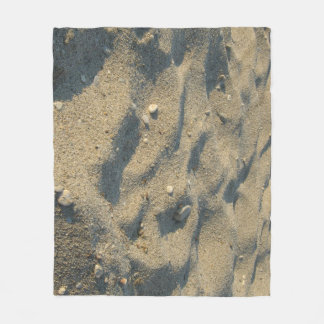 Beach sand camo cover fleece blanket