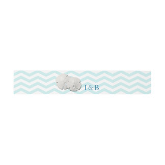 Beach Sand Dollars Belly Band Invitation Belly Band