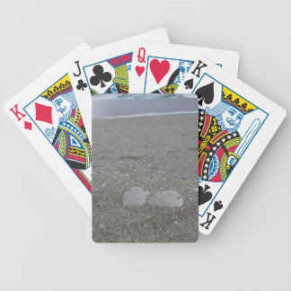 Beach Sand Dollars Bicycle Playing Cards