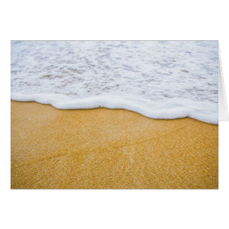 Beach Sand n Surf Blank Folded Note Cards