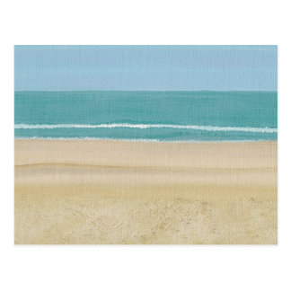 Beach Sand Ocean Scene Postcards