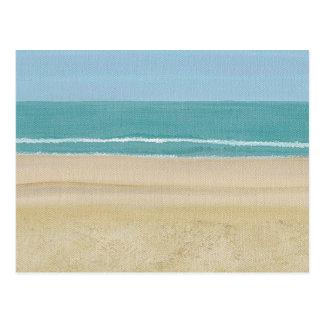 Beach Sand Ocean Scene Postcards