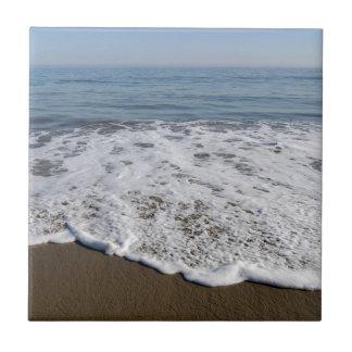 Beach/Sand/Waves Ceramic Tile