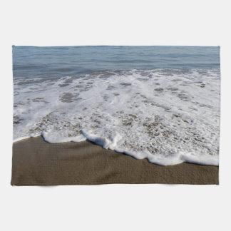 Beach/Sand/Waves Tea Towel