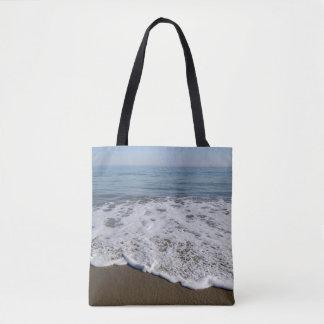 Beach/Sand/Waves Tote Bag