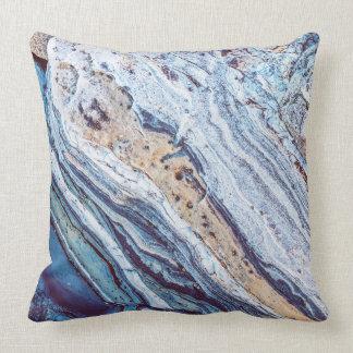 Beach Sandstone Throw Pillow