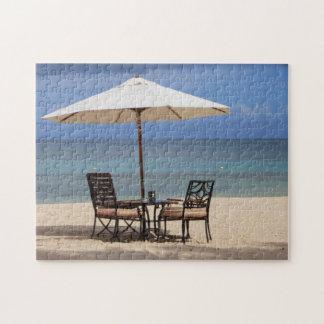 Beach Scene Mauritius. Jigsaw Puzzle