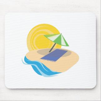 Beach Scene Mousepads