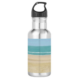 Beach Scene Painting Water Bottles 532 Ml Water Bottle