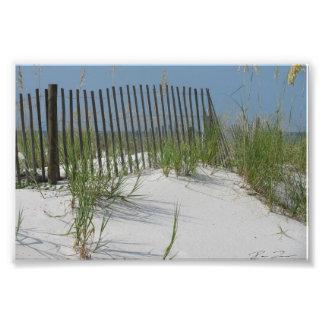 Beach Scene Art Photo