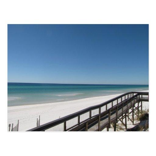 beach scene postcards