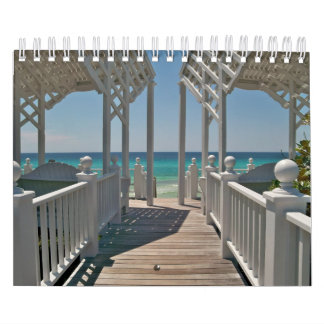Beach Scenes of Beautiful Seaside, Florida Wall Calendars