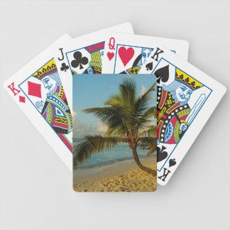 Beach scenic poker deck