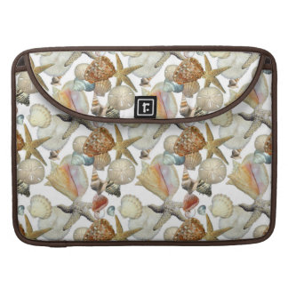 Beach Sea Shells Sleeve For MacBook Pro
